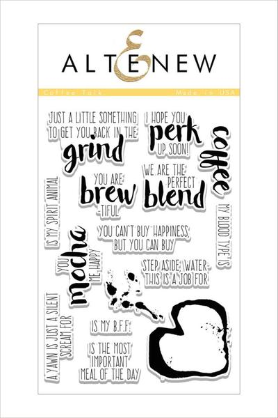 Altenew, Coffee Talk Stamp Set - Scrapbooking Fairies