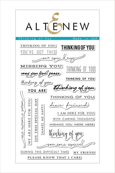 Altenew,Thinking of You Stamp Set - Scrapbooking Fairies