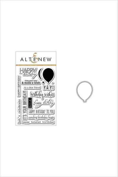 Altenew, Birthday Greetings Stamp & Die Bundle