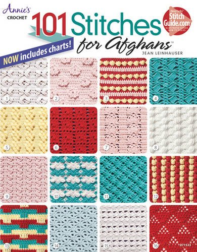 101 Stitches for Afghans by Jean Leinhauser - Scrapbooking Fairies