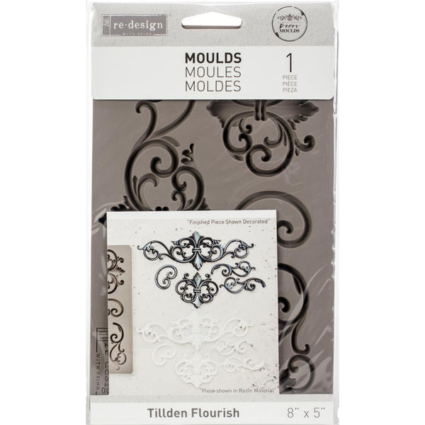 Prima Re-Design Decor Mould, Tillden Flourish