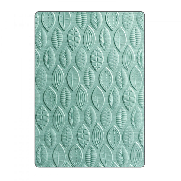 Sizzix 3D Textured Impressions Embossing Folder by Lynda Kanase, Leaves