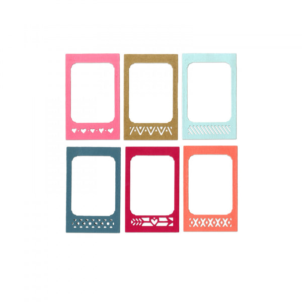 Sizzix Thinlits Dies 12/Pkg Photo Frame & Borders (Retired)