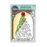 Sizzix, Coloring Cards - Christmas in Color - Scrapbooking Fairies
