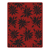 Sizzix, Texture Fades Embossing Folder by Tim Holtz,, Poinsettias (Retired)