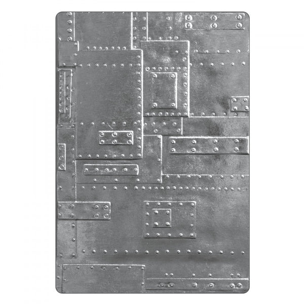 Sizzix 3D Texture Fades Embossing Folder By Tim Holtz, Foundry