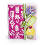 Sizzix Thinlits W/Textured Impressions By Courtney Chilson, Sweet Treats