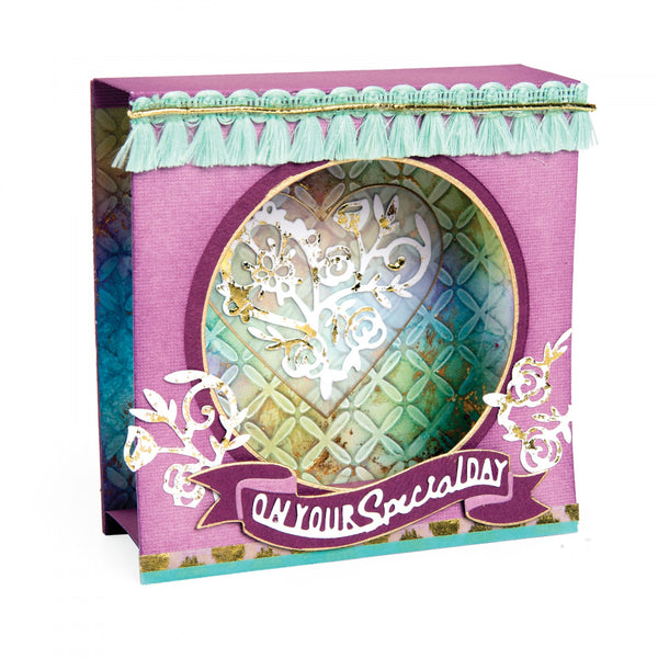 Sizzix Thinlits Dies By Katelyn Lizardi,  Shadow Box Mini