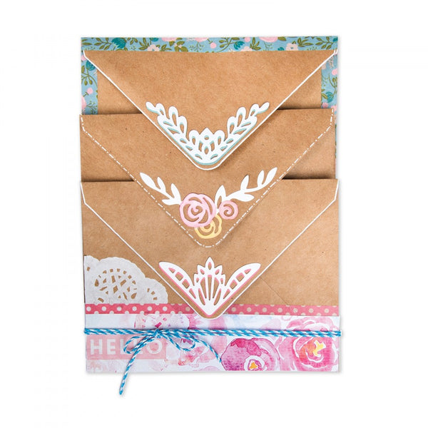 Sizzix Thinlits Dies By Katelyn Lizardi, Envelope Corners