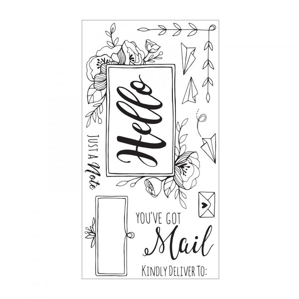 Sizzix Clear Stamps By Katelyn Lizardi, You've Got Mail