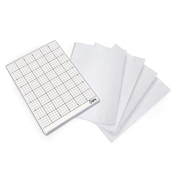 "Sizzix Big Shot Sticky Grid 6""X8.5"" 5/Pkg"