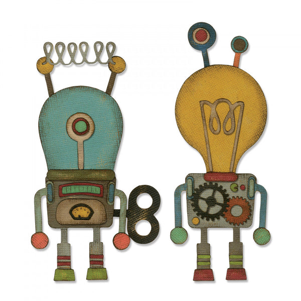 Sizzix Thinlits Dies By Tim Holtz, Robotic