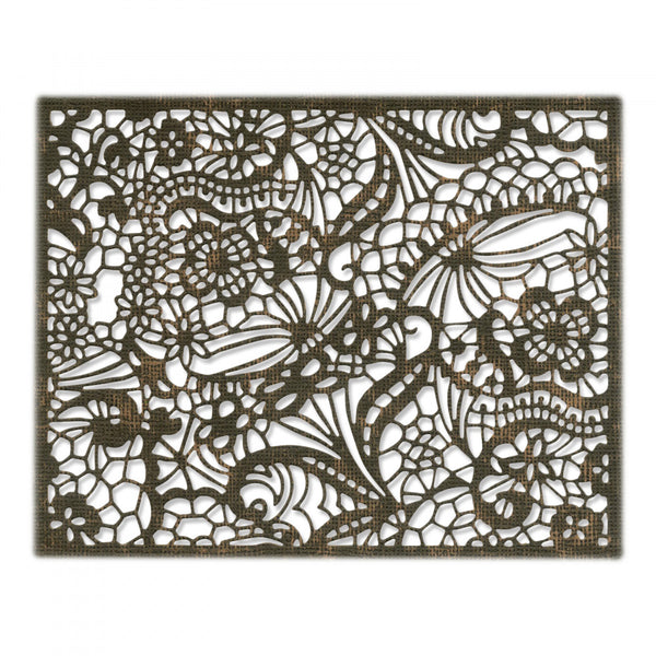 Sizzix Thinlits Dies By Tim Holtz, Intricate Lace