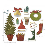 Sizzix Thinlits Dies By Tim Holtz, Festive Things