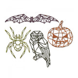 Sizzix Thinlits Dies By Tim Holtz, Geo Halloween