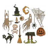 Sizzix Thinlits Dies By Tim Holtz, Frightful Things