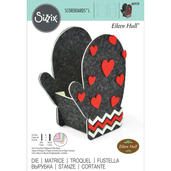 Sizzix ScoreBoards L Die by Eileen Hull, Box-Mitten