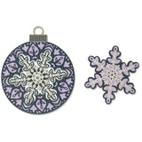 Sizzix Thinlits Dies By Jessica Scott 6/Pkg, Layered Snowflake