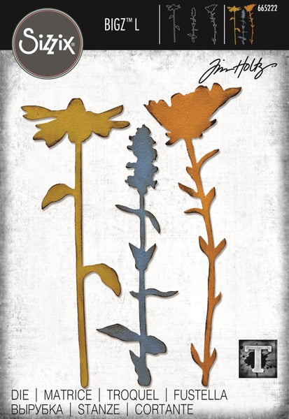 Sizzix Bigz L Die By Tim Holtz, Large Stems #2