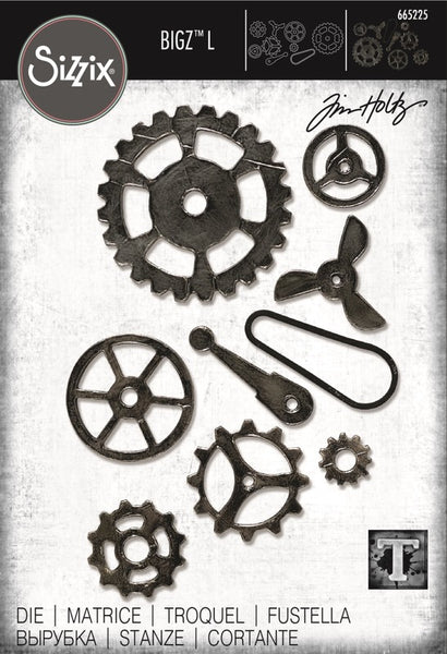 Sizzix Bigz L Die By Tim Holtz, Mechanical