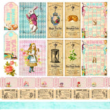 "6""x6"" Alice's Tea Party Collection Pack"