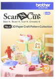 Brother ScanNCut, USB No. 4 3D Paper Craft Pattern Collection - Scrapbooking Fairies
