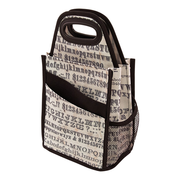 Advantus - Tim Holtz, Spinning Tote - Typography - Scrapbooking Fairies