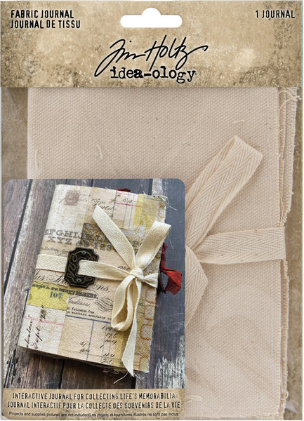 "Tim Holtz Idea-Ology Fabric Journal 4""X6"""