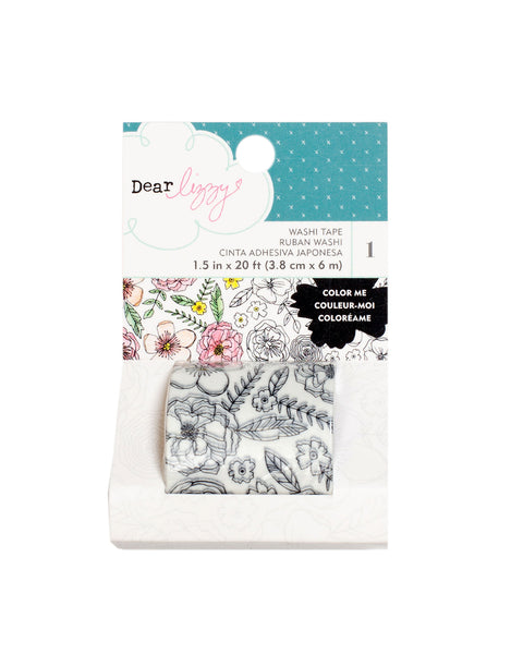 Amercian Crafts, Dear Lizzy Lovely Day, Washi Tape - Scrapbooking Fairies