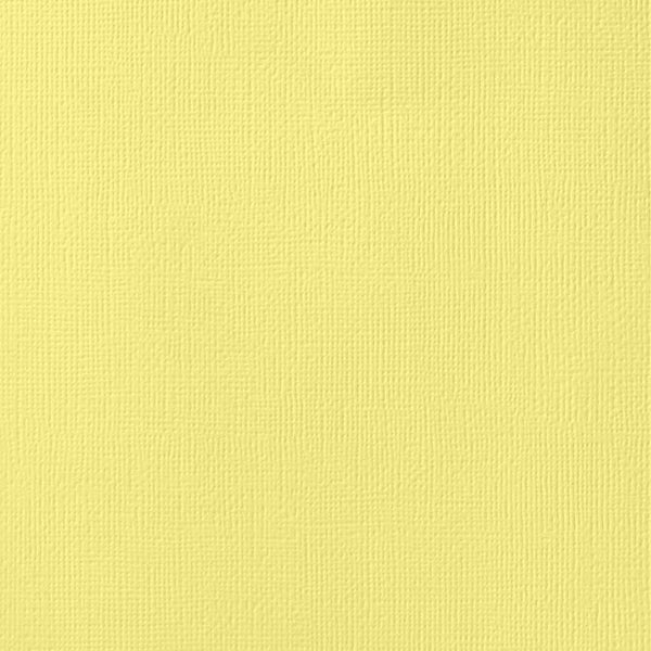 "12""X12"" Textured Cardstock, Canary - Scrapbooking Fairies"