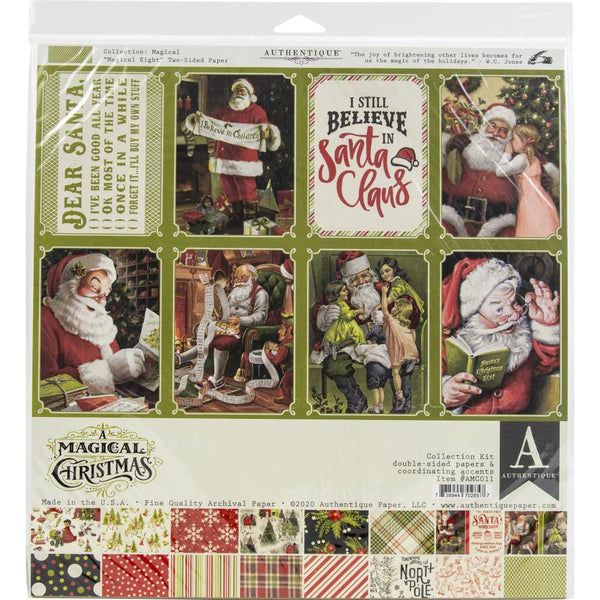 "Authentique Collection Kit 12""X12"", A Magical Christmas (AMC011)"