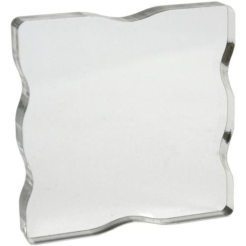 "Acrylic Block 2.25 X 2.25"" W/grips - Scrapbooking Fairies"