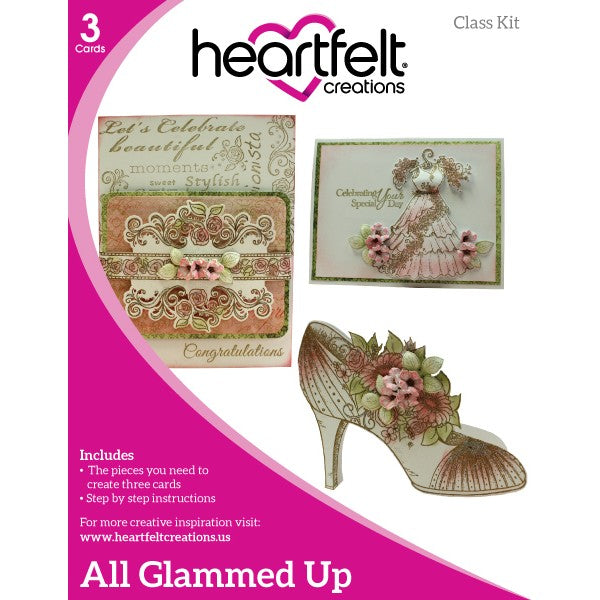 Heartfelt Creations, All Glammed Up Class Kit