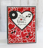 Taylored Expressions, All You Need Is Love Cling Stamps - Scrapbooking Fairies