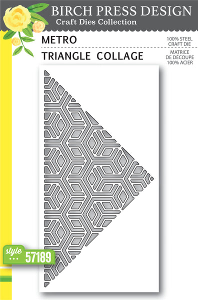 Birch Press Design, Metro Triangle Collage, Dies