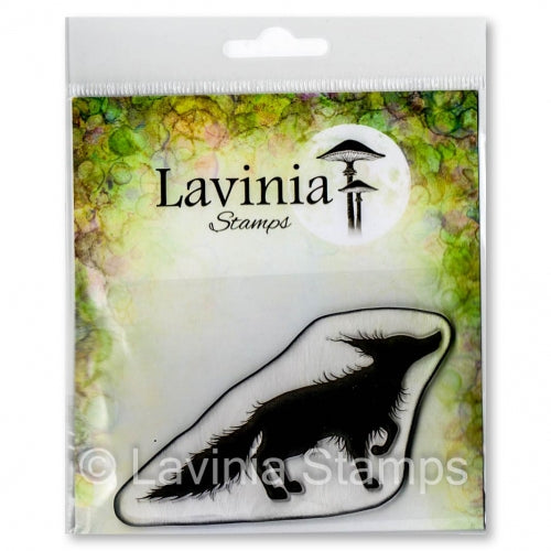 Lavinia Stamp, Bandit (LAV645), Clear Stamp