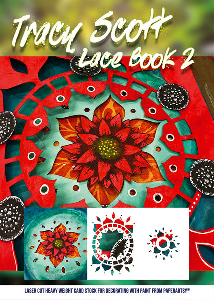 PaperArtsy, Tracy Scott Lace Booklet 2
