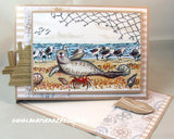 Marianne Design Stamps Tiny's Border - Sandpipers