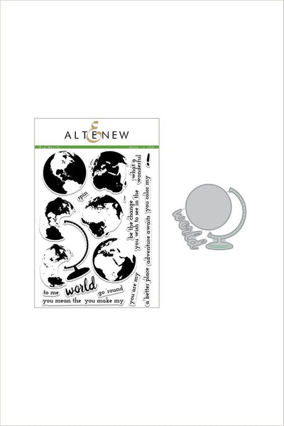 Altenew, Big World Stamp & Die Bundle