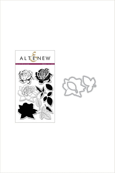 Altenew, Bold Blossom Stamp & Die Bundle