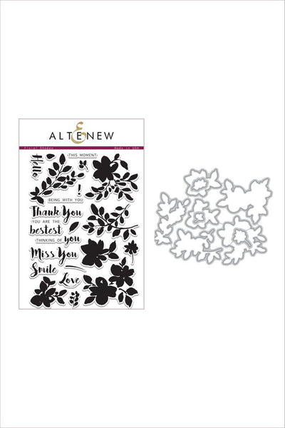 Altenew, Floral Shadow Stamp & Die Bundle - Scrapbooking Fairies