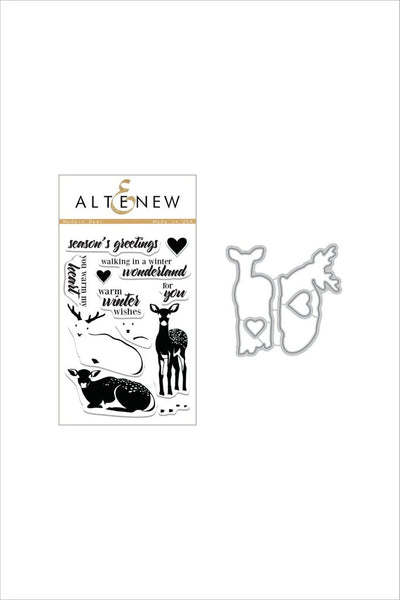 Altenew, Modern Deer Stamp & Die Bundle - Scrapbooking Fairies