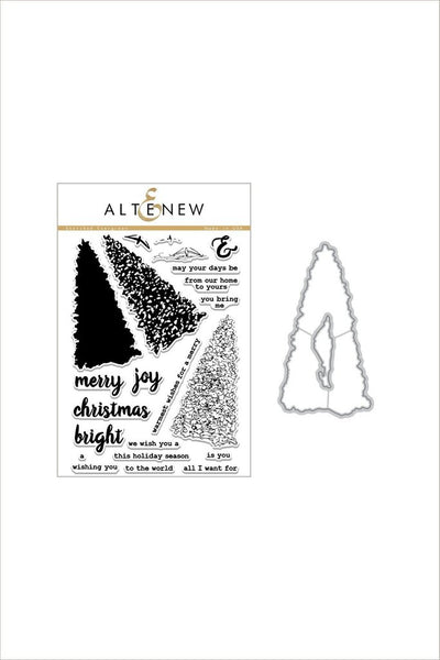 Altenew, Sketched Evergreen Stamp & Die Bundle - Scrapbooking Fairies