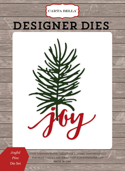 Joyful Pine Die Set