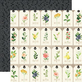 "Echo Park, Spring Market Double-Sided Cardstock 12""X12"", Floral Tags - Scrapbooking Fairies"