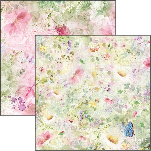 "Ciao Bella Double-Sided Cardstock 90lb 12""X12"", Microcosmos"
