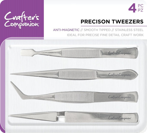 Tweezers, Precision (4pc)
