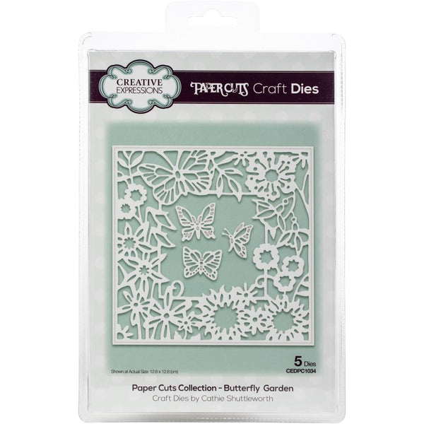 Creative Expressions Paper Cuts Craft Dies, Butterfly Garden