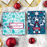 "Hero Arts Cling Stamps 6""X6"", Nordic Holiday Bold Prints"