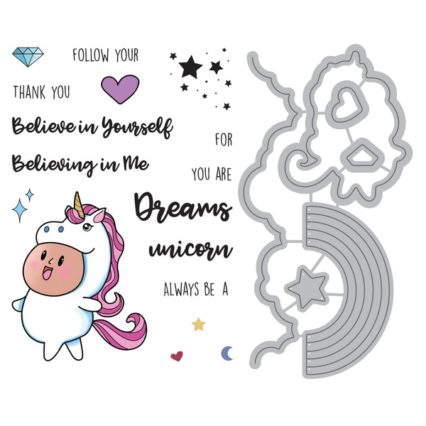 Maker's Movement, Stamp & Die Set, You Are a Unicorn